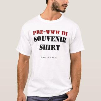 Pre-WWW III souvenirskjorta T-shirt