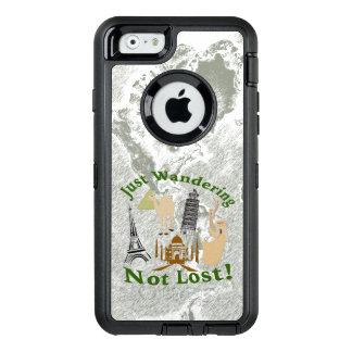 Precis att irra inte förlorade design OtterBox iPhone 6/6s fodral