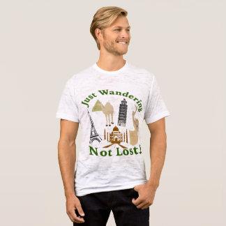 Precis att irra inte förlorade design t-shirt