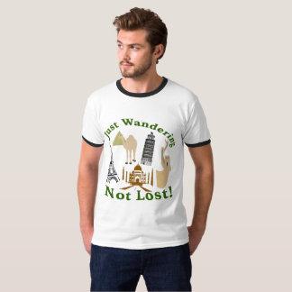 Precis att irra inte förlorade design tee shirts
