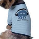 Precis Chillin blåttmanet med hörlurar Kläder För Husdjur