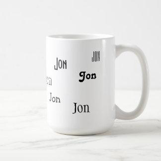 Precis ditt namn kaffemugg