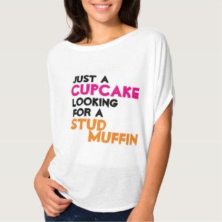 Precis en muffin som söker efter en dubbamuffin tee shirts