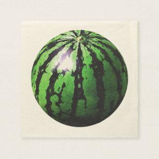 precis en vattenmelon (genomskinliga BGC) Servett