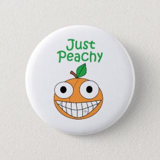 Precis Peachy knäppas Standard Knapp Rund 5.7 Cm