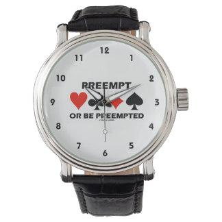 Preempt eller preempteds (överbrygga fyra armbandsur