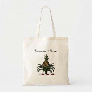 Preppy heraldisk ananasvapensköldfärg RWT Tygkasse
