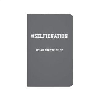 Preppy journal för typografi#SelfieNationhögskola