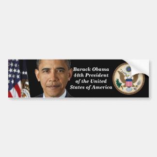 Pres. Det Obama porträtt, officiell förseglar Bildekal