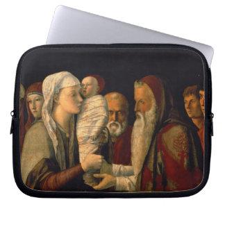 Presentationen av Jesus i tempelet Laptop Sleeve