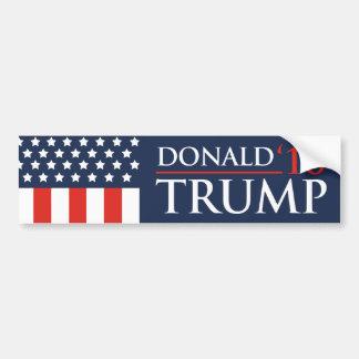 President 2016 för Donald Trump flaggabildekal Bildekal