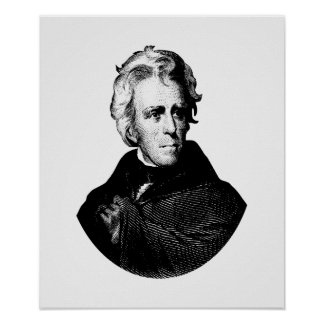 President Andrew Jackson Poster