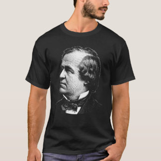 President grafiska Andrew Johnson Tee Shirt