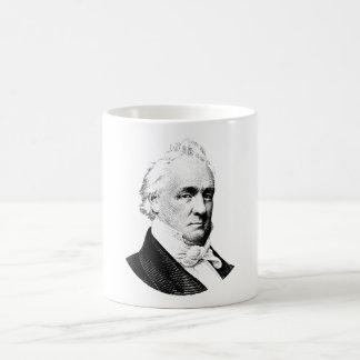 President grafiska James Buchanan Kaffemugg