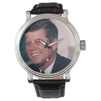 President John F. Kennedy Armbandsur