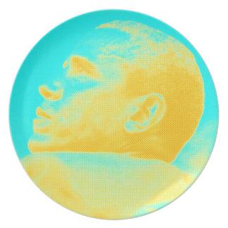 Presidenten Barack Obama 4 skissar Dinner Plate
