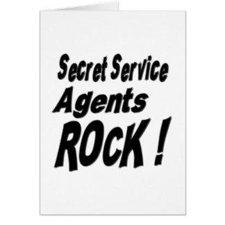 Presidentens säkerhetstjänstagentersten! hälsningskort