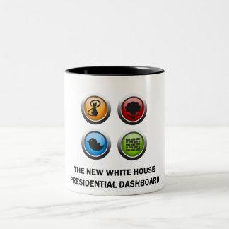 Presidents- instrumentbräda Två-Tonad mugg