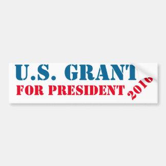 Presidents- klistermärke: U.S. Lån för president Bildekal