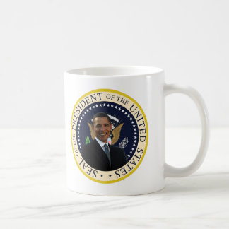 Presidents- Obama förseglar Kaffemugg