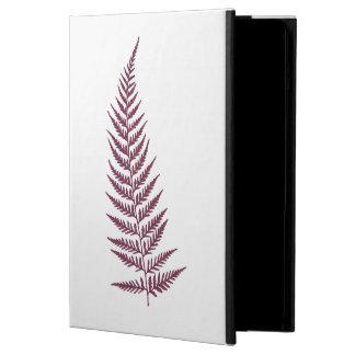 Pressande botaniskt Fernlöv - blandning- och iPad Air Skydd