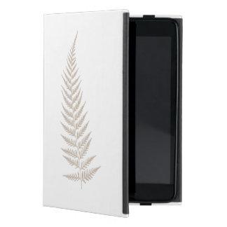 Pressande botaniskt Fernlöv - blandning- och iPad Mini Fodral