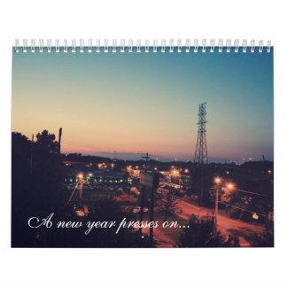 Pressar för ett nytt år på… kalender