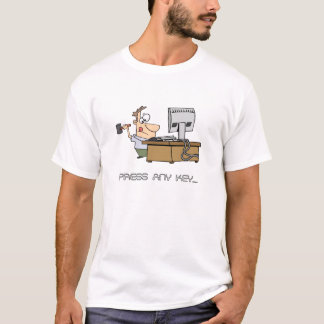 Pressen någon stämm den roliga T-tröja Tröja