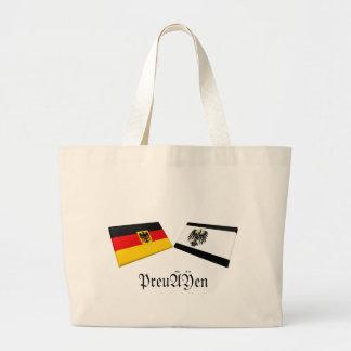 Preussen Tysklandflagga belägger med tegel Tygkasse