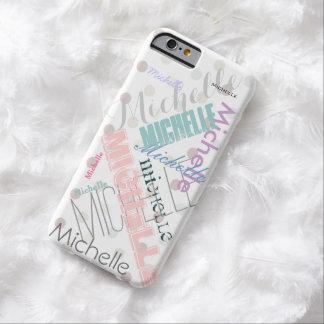Pricker den kända polkaen för pastell barely there iPhone 6 fodral