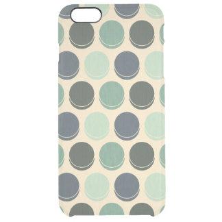 Pricker den moderiktiga polkaen för det dystra hav clear iPhone 6 plus skal