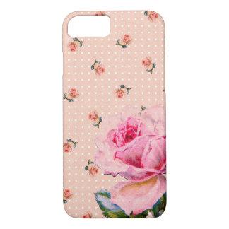 Pricker den rosa blommigten för vintage och