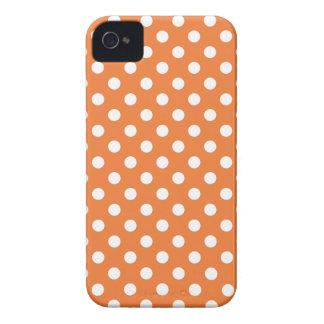 Pricker den rosa polkaen för korall det Iphone iPhone 4 Skal