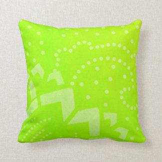 Pricker gröna geomentric för limefrukt det kudde