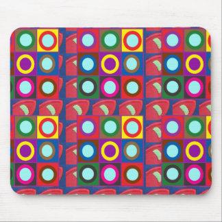 Pricker rundor som n cirklar mallen DIY tillfogar Musmatta