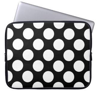 Pricker seamless mönstervit + din backgr. laptop fodral