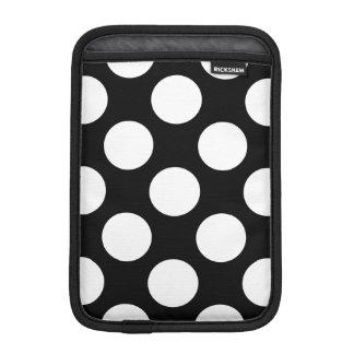 Pricker seamless mönstervit + din backgr. sleeve för iPad mini