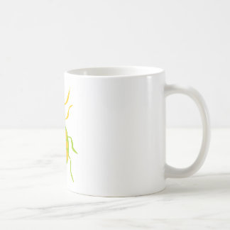 Prickig skalbagge kaffemugg