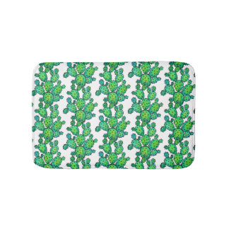 Prickly kaktus för ursnygg vattenfärg badrumsmatta