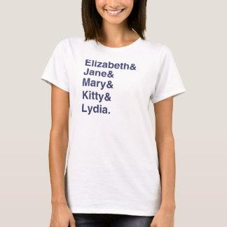 Pride & fördom - Bennett flicka namn T-shirt