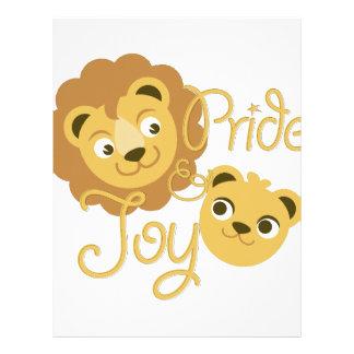 Pride & glädje brevhuvud