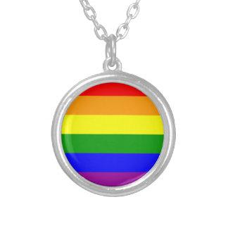 pride silverpläterat halsband