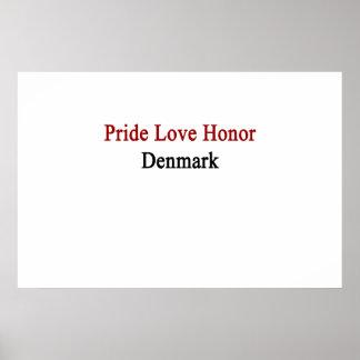 Pridekärlekheder Danmark Poster