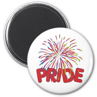 Prideregnbågefyrverkerier Magnet