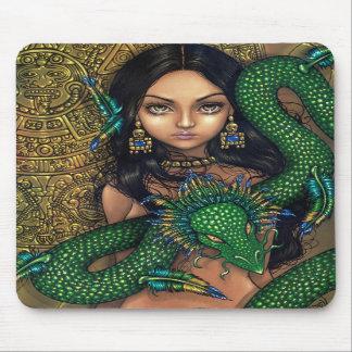 """Priestess av Quetzalcoatl"" Mousepad Musmattor"