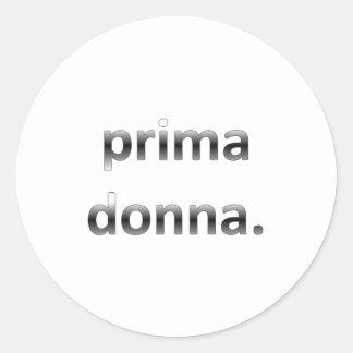 Prima Donna Runt Klistermärke