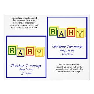 (Primära) babykvarterCandybar omslag, Flygblad Designs