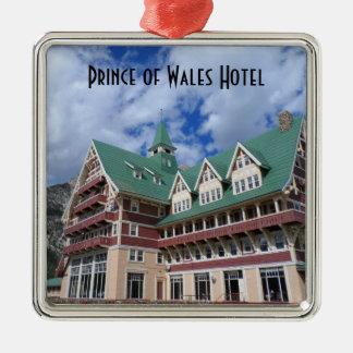 Prince av Wales HotellWaterton sjöar Julgransprydnad Metall
