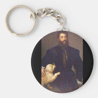 Prince Balthasar Carlos', Diego_Portraits Rund Nyckelring