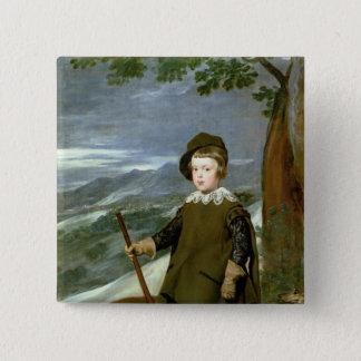 Prince Balthasar Carlos Standard Kanpp Fyrkantig 5.1 Cm